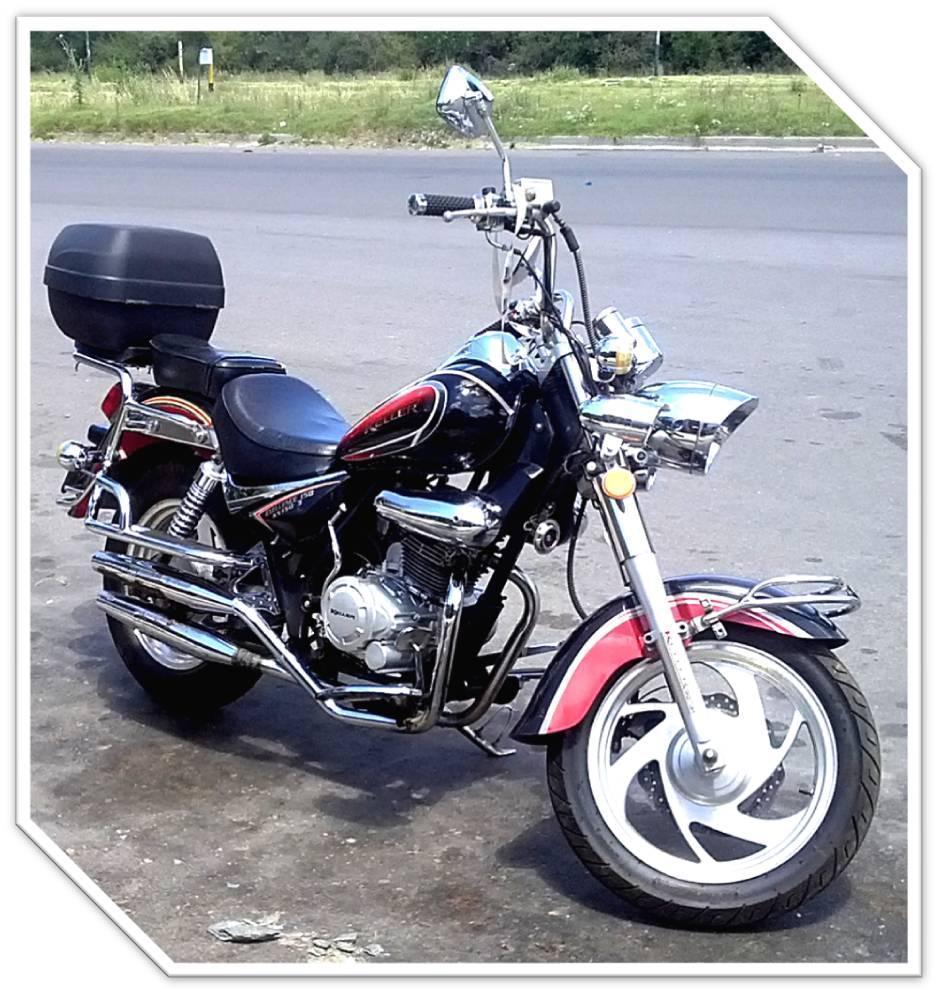 VENDO HERMOSA MOTO CUSTOM KELLER 150 CC