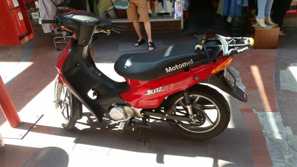 Motomel Blitz 125 Full Llantas Disco