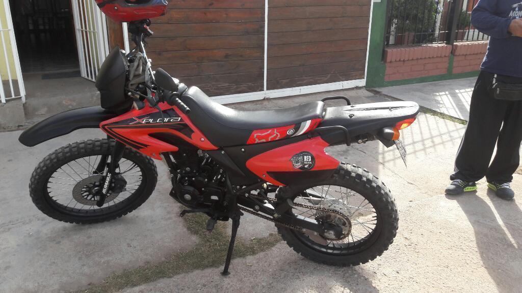 Vendo Moto Xplorer 250 Modelo 2008