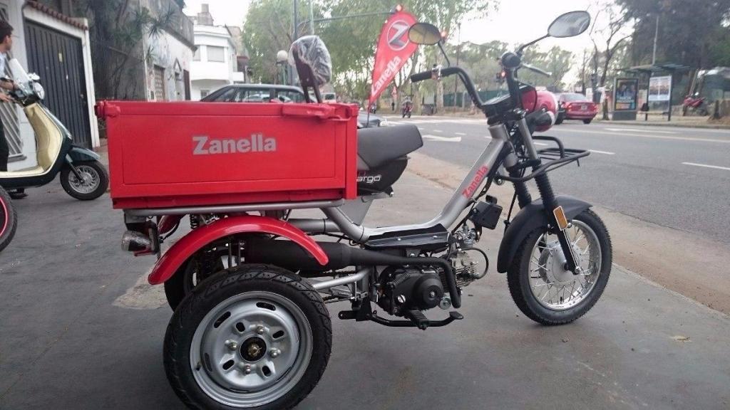 TRICARGO 100CC ZANELLA IMPECABLE!!!!