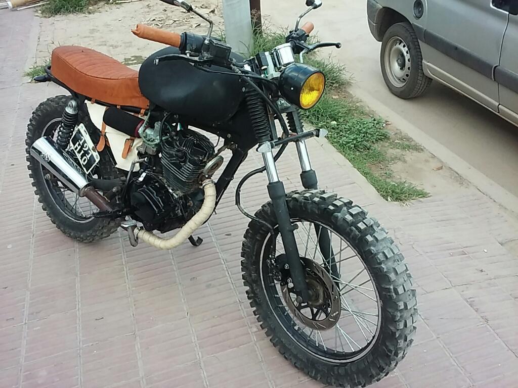 Vendo Moto Scrambler 200cc