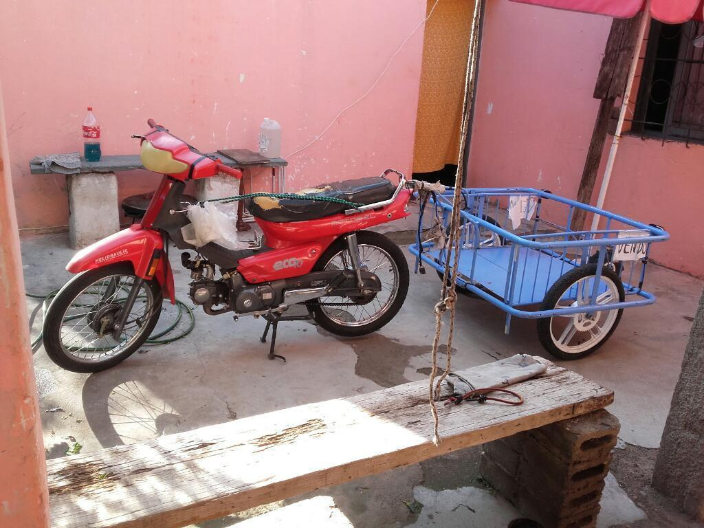 Motomel Eco 70 Motor Original Cubiertas