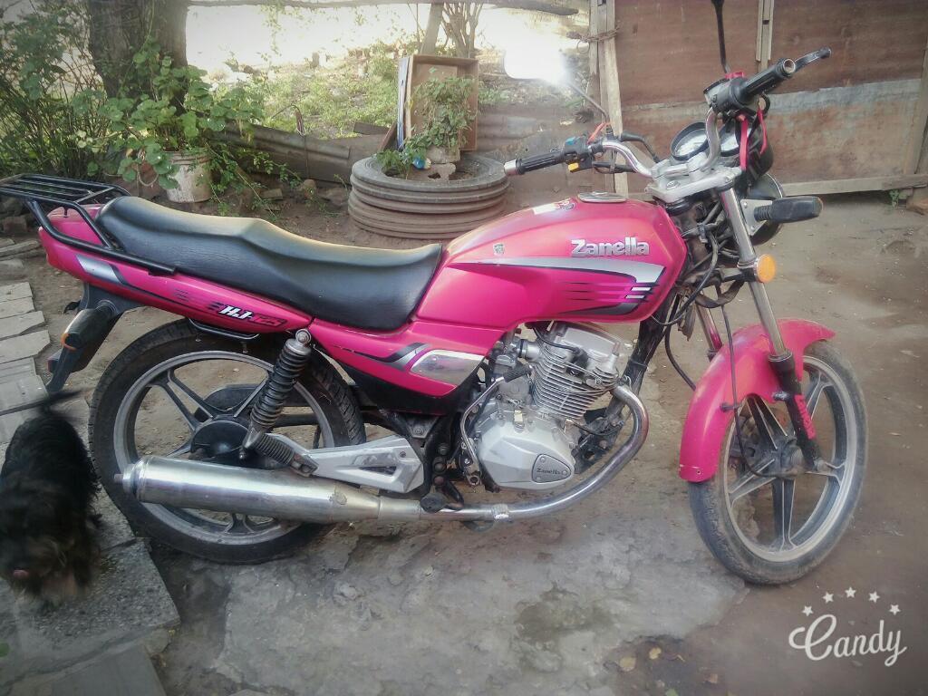 Vendo Zanella 125 Modelo 2012..tomo 110
