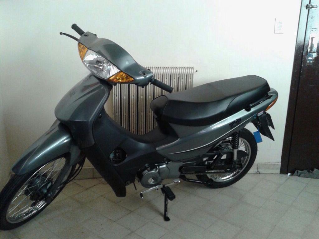 Moto Guerrero 0km .color Gris