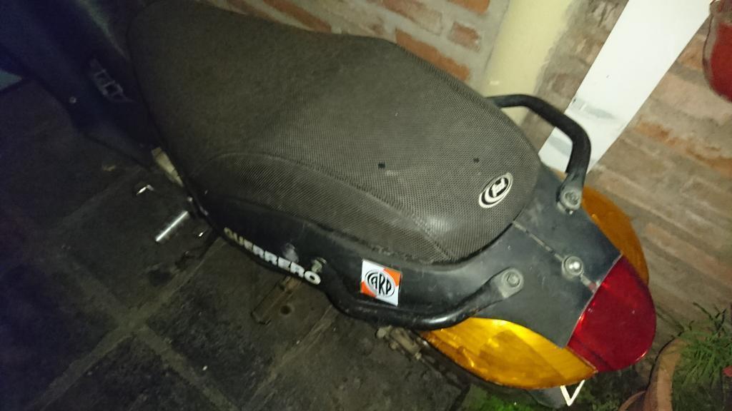 Moto Guerrero Bike 110cc