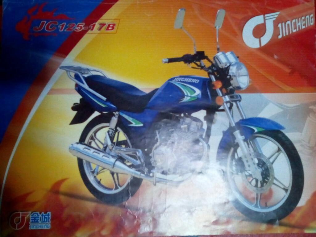 Vendo Moto Jincheng Jc125-17b