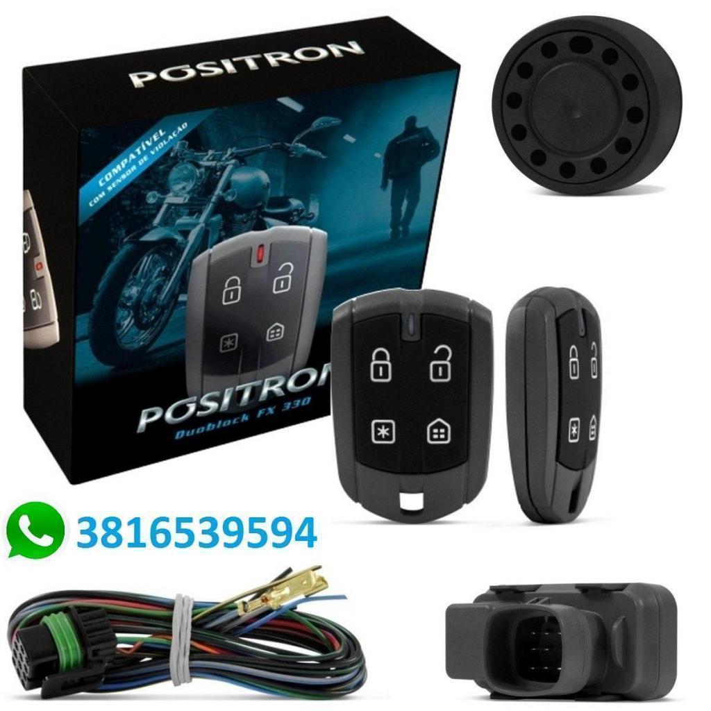 Alarma MOTO Positron C/ sensor de Presencia, Movimiento, Corte de Motor, Gtia de 2 años