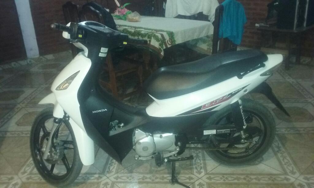 Vendo Honda Biz 125 Impecable