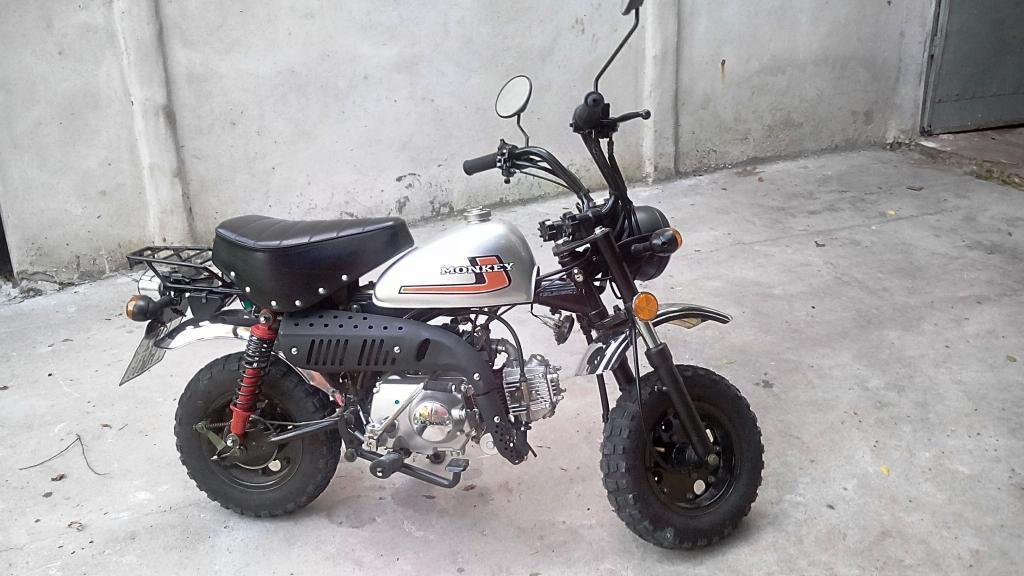 Moto Mondial Monkey 48cc 200 km reales