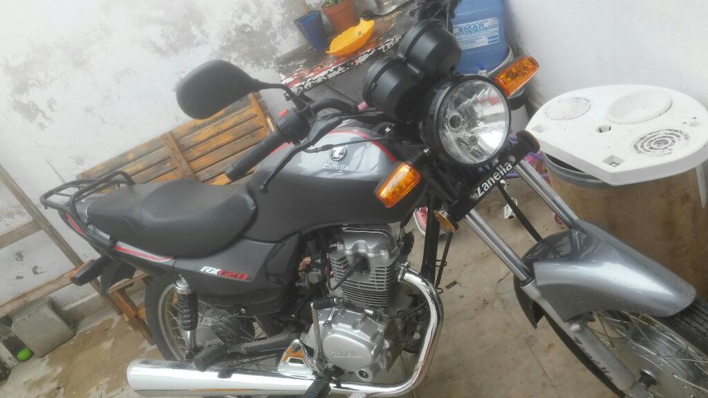 Vendo. Zanella 150 Rx Nueva