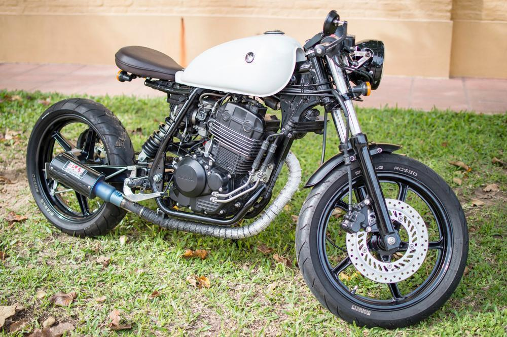 Café racer 250cc única!