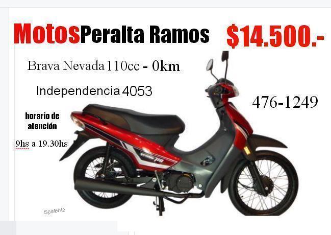 BRAVA NEVADA 110cc $14.500