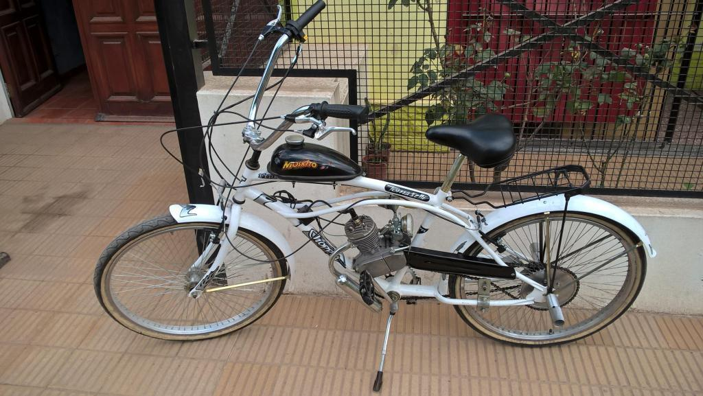 Bicimoto Tomaselli Chopper 72 Rayos IMPECABLE