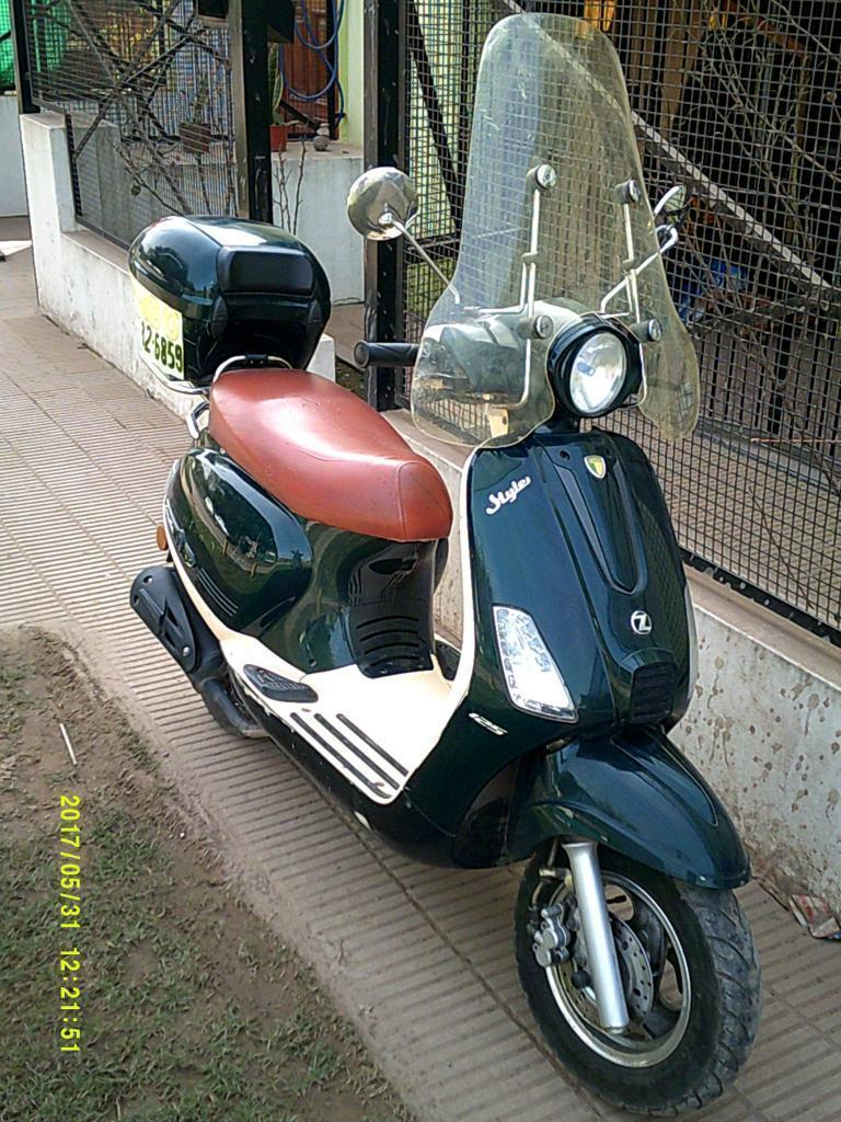 Scooter Zanella Styler 125 Exclusive 2014