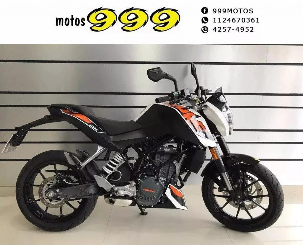 Ktm Duke 200 2016 Nacked Como 0km Usada Impecable