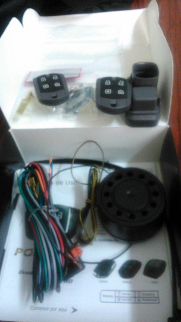Alarma Positron C/CORTE DE MOTOR, Sensor de Presencia, Sensor de Movimiento, 2 Años de Garantia