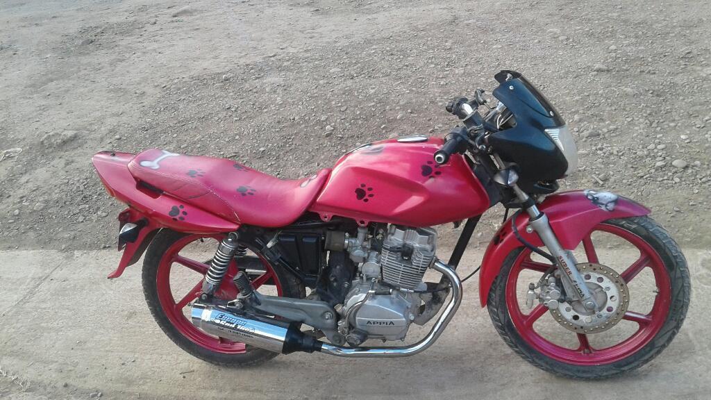 Vendo Urgentemente Moto Apia Montero 150