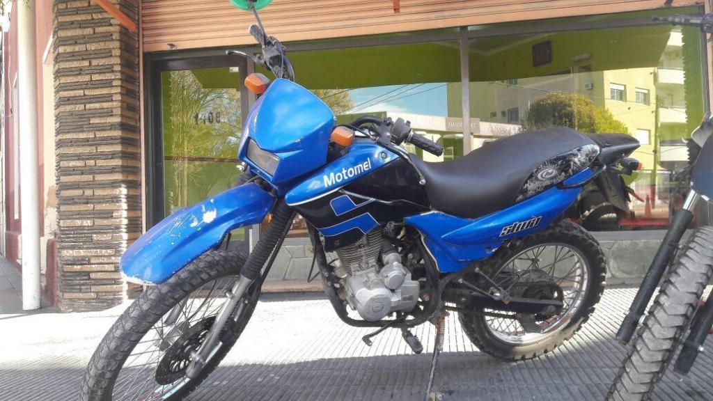 MOTOMEL ENDURO 150Cc VENDO, PERMUTO Y FINANCIO