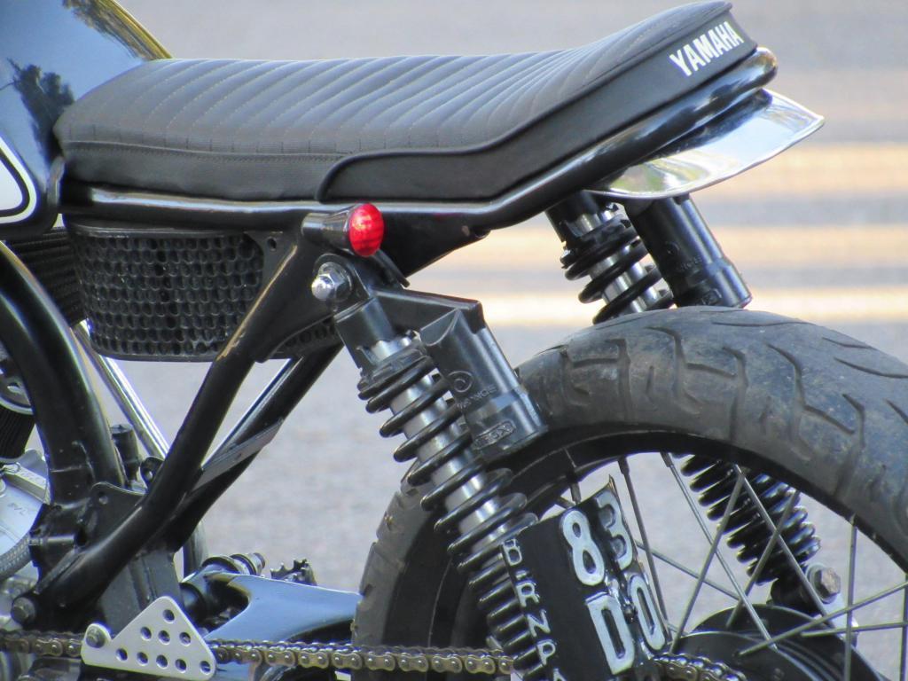 Yamaha Ybr 150 Tracker scrambler Fighter Bobber Cafe Brat