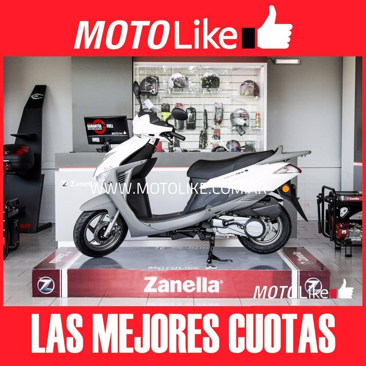 Zanella Styler Lt 150 Nuevo Modelo 2017 Moto Like 0km