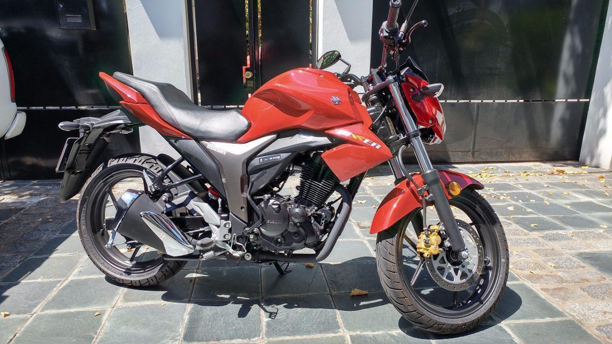 Moto Susuki Gixxer 150 Cc Modelo 2016