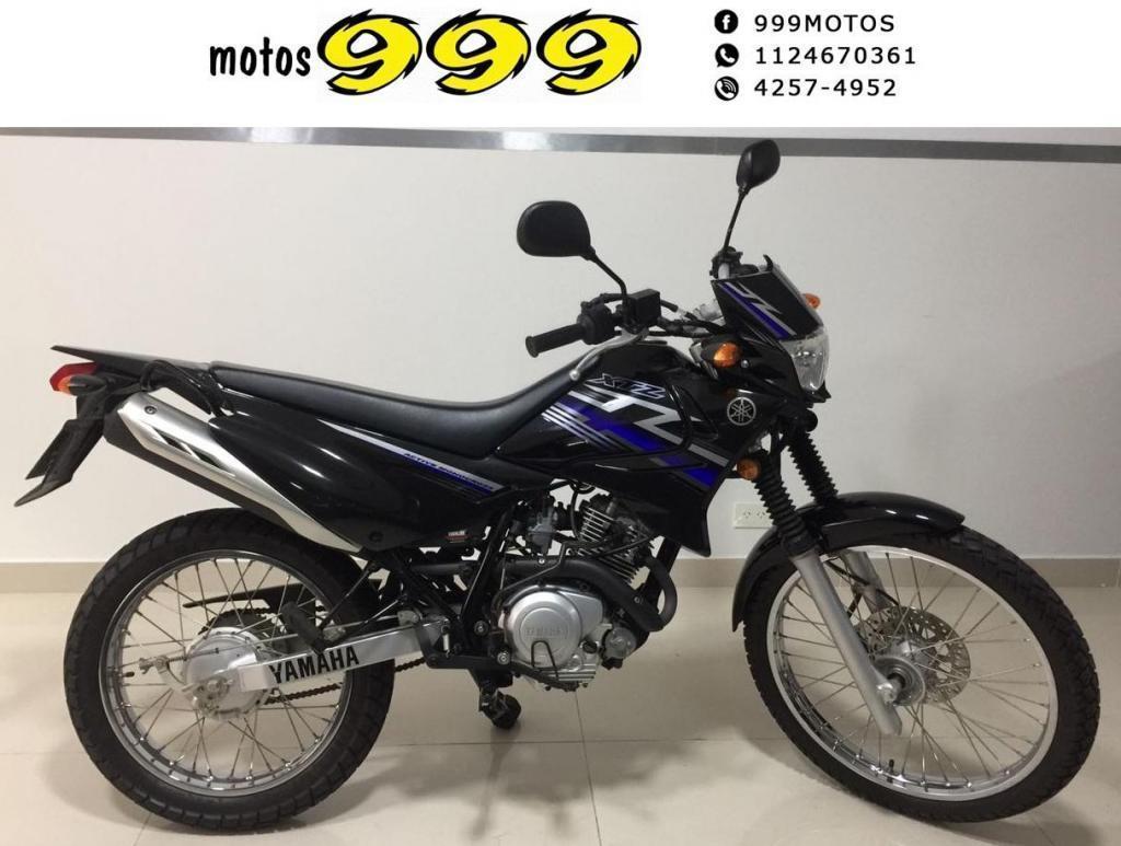 Yamaha Xtz 125 125cc Usada 2012 Impecable 1200km