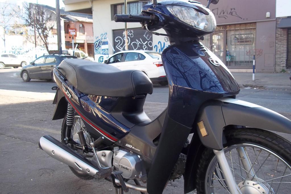 Moto Zanella zb 110 con alarma