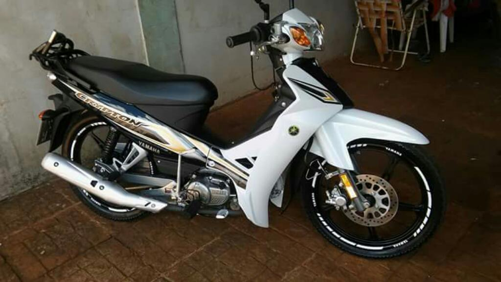 Yamaha Crypton 2016 4800kms Impecable