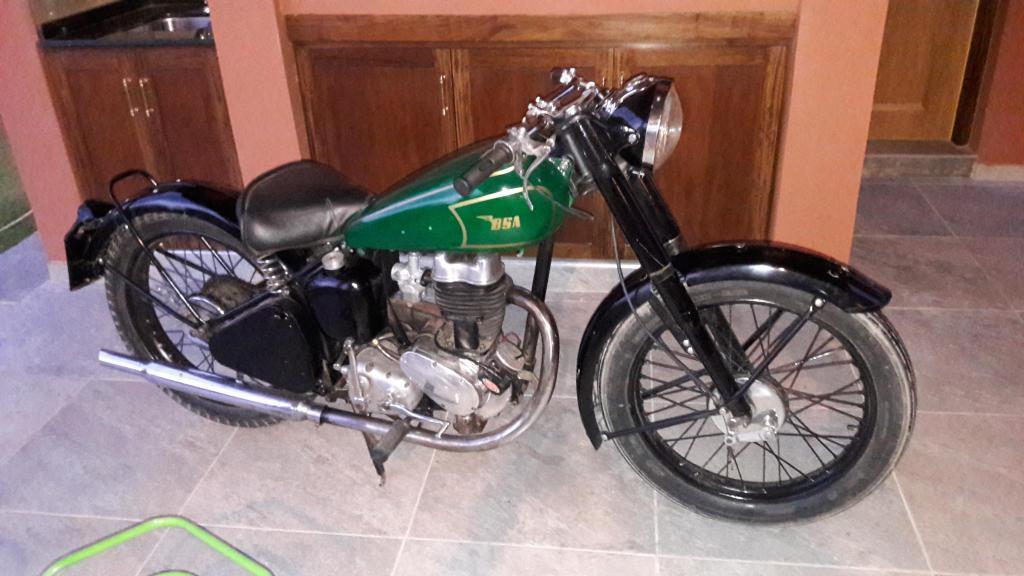 Vendo moto Antigua