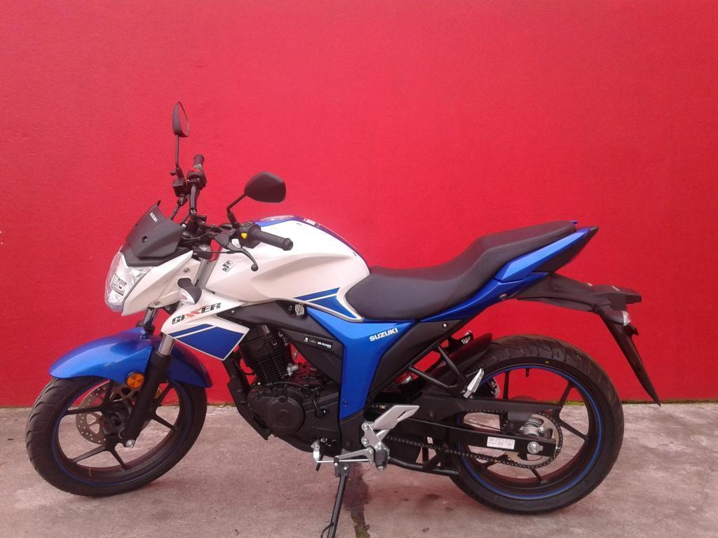 MOTOCICLETA SUZUKI GIXXER 150