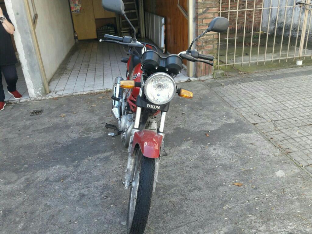Vendo Moto Ybr 125 Modelo 2012 Impecable