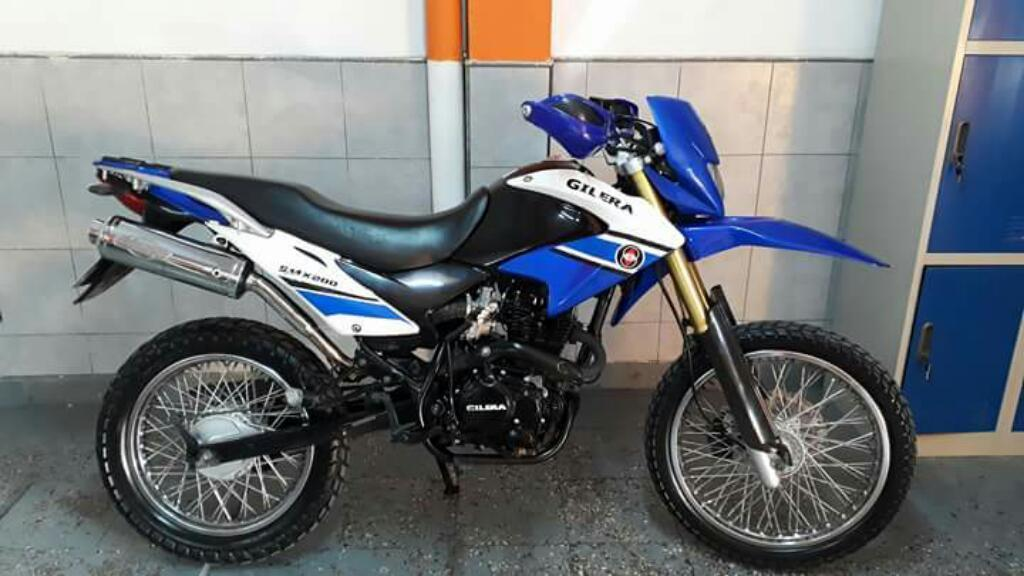Impecable Gilera 200 Full 2016