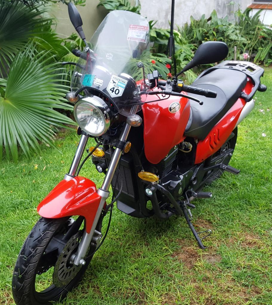 JAWA 350 RUTA 40 impecable con 30000 Km VTV todos los papeles listos para transferir permuto
