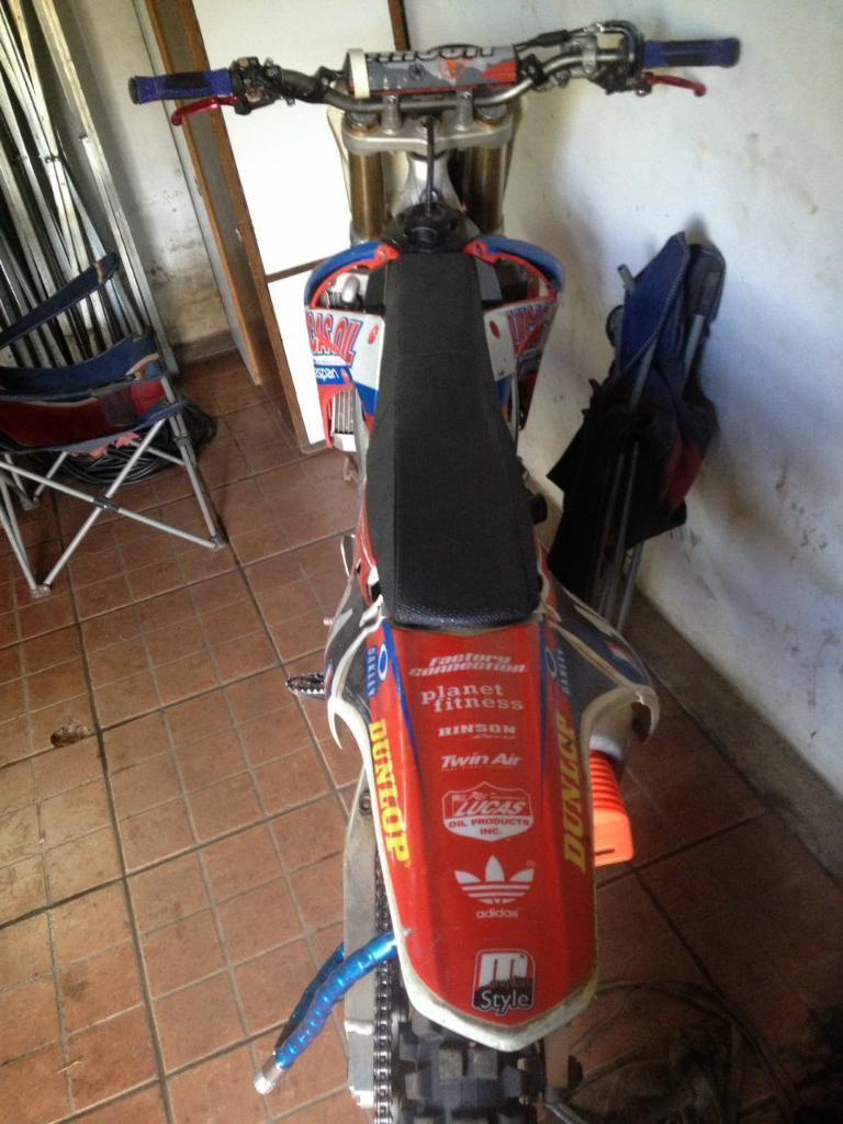 Vendo Honda Crf 250cc 2010