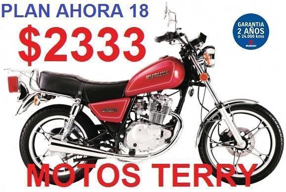 Moto Suzuki Gn 125 0 Km Plan Ahora 18