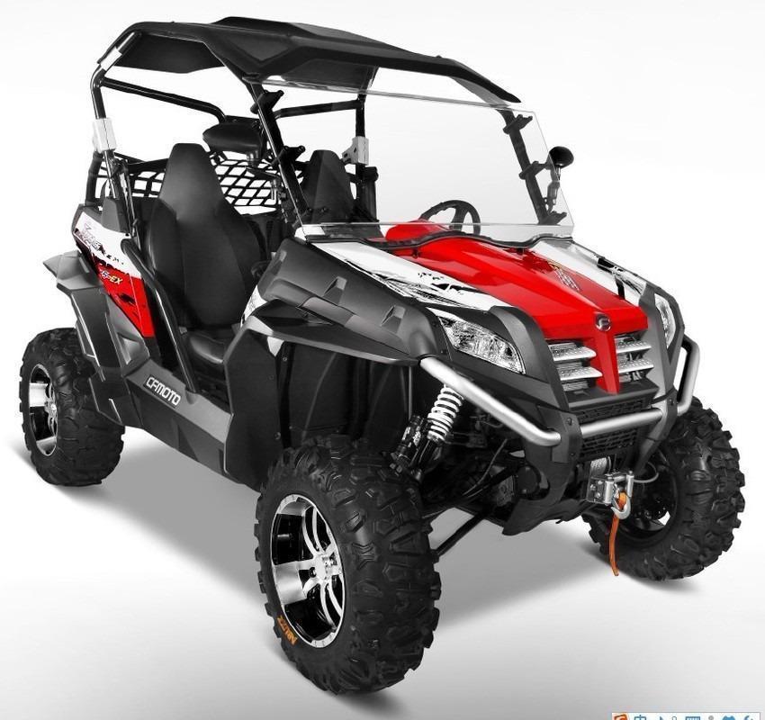 Utv Gamma Zforce 625 Ex 4x4 Cf Moto