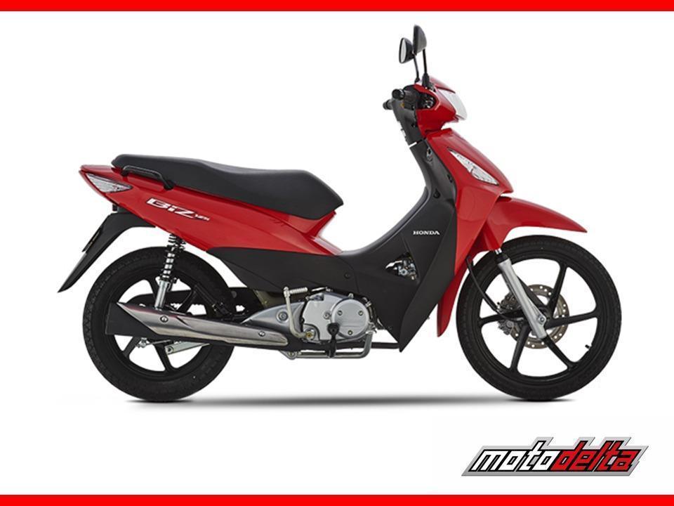 Honda Biz 125 Con Freno A Disco Moto Delta
