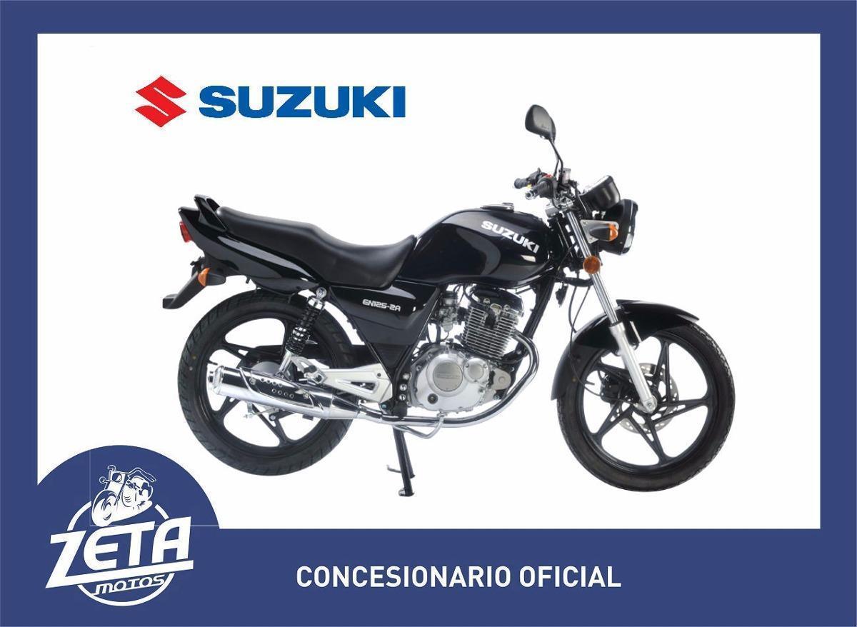 Suzuki En 125 2a 0km 2017 Zeta Motos
