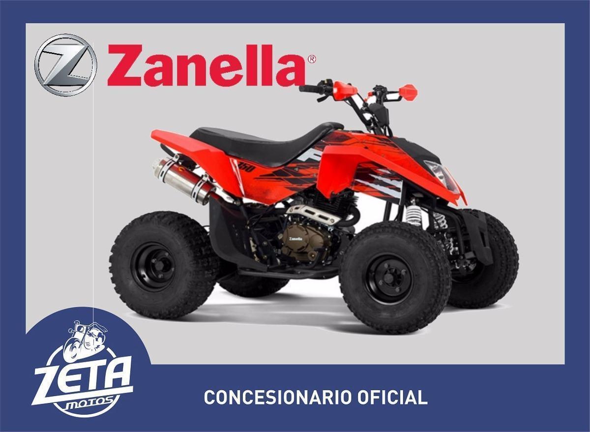 Cuatriciclo Zanella Fx 150 2017 Zeta Motos