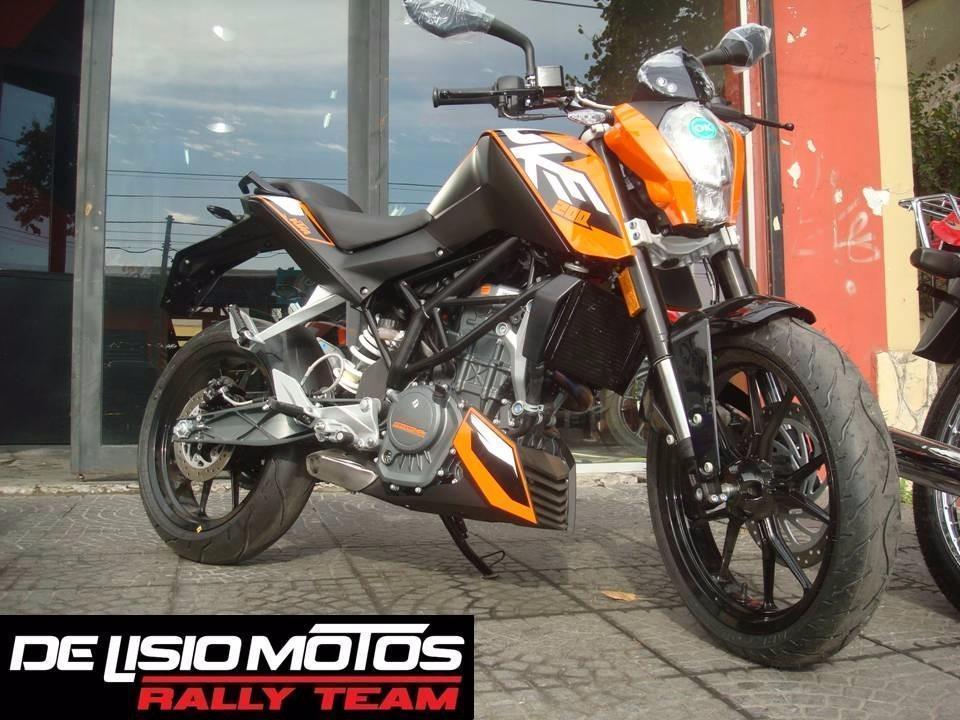Ktm Duke 200 2014 Delisio Motos