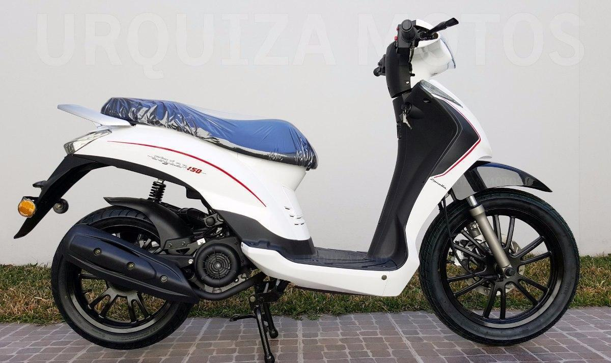 Moto Scooter Zanella Styler 150 R16 R 16 0km Urquiza Motos