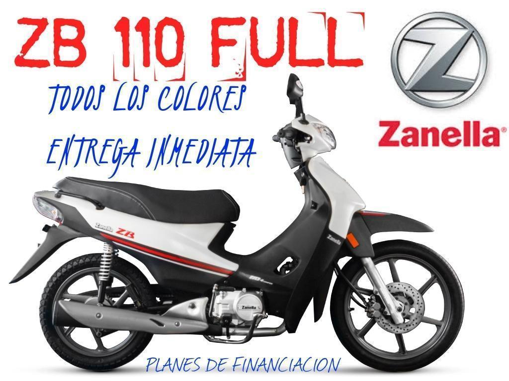 Moto Zanella Zb 110 Full Z1 0km 2017