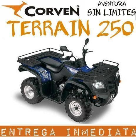 Cuatriciclo Corven Terrain 250 Parrillero 0km 2017