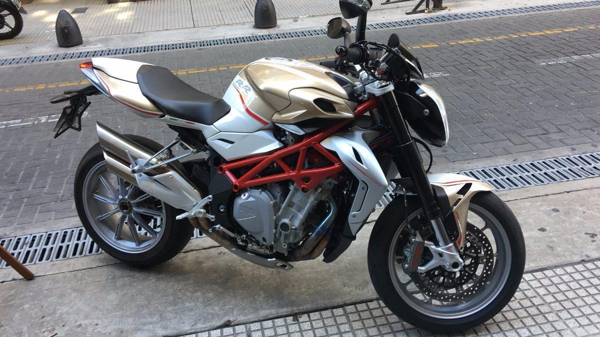 Mv Agusta Brutale 1090 Rr 1200km No Ducati Unica