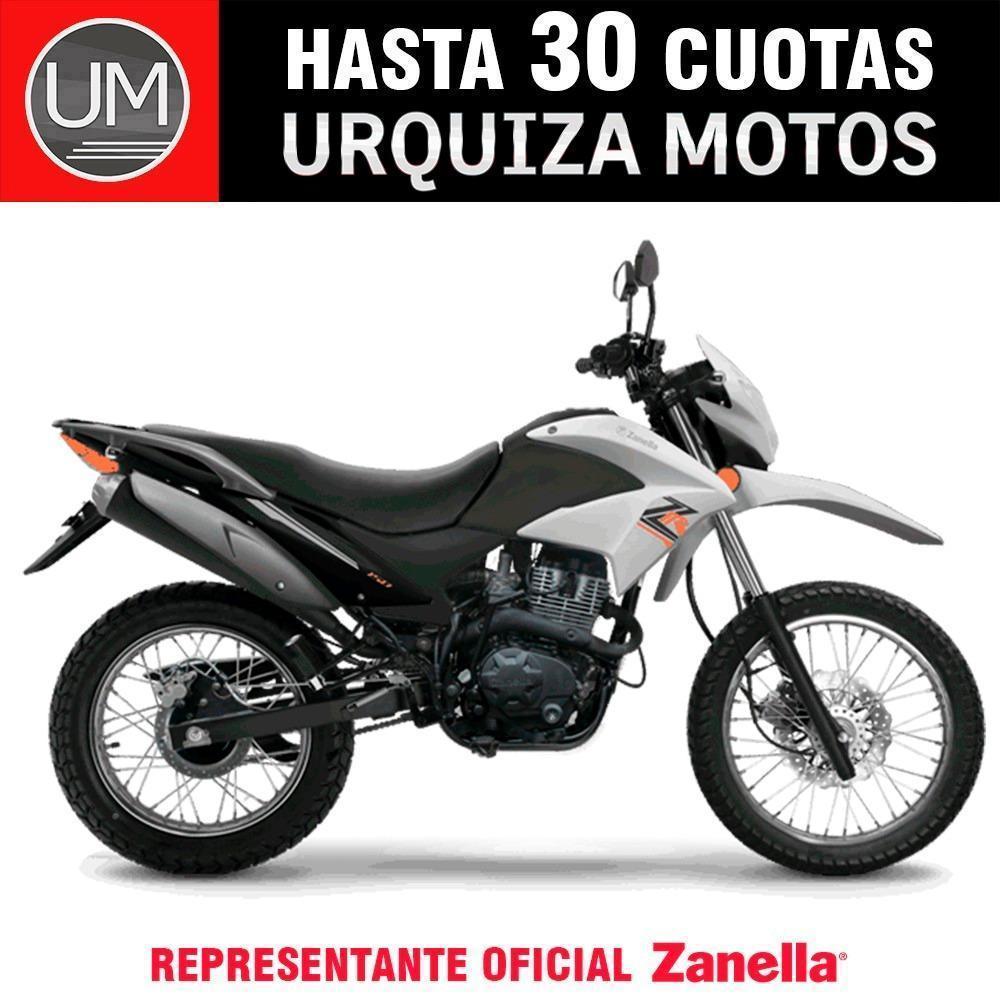 Moto Zanella Zr 150 Enduro Cross Financia 0km Urquiza Motos