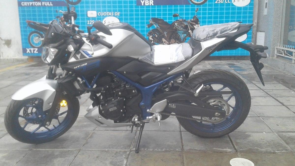 Yamaha Mt 03 Gris