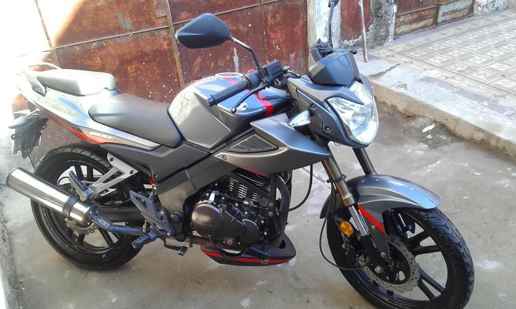 Zanella RX 200 Naked en deRuedas, Mendoza