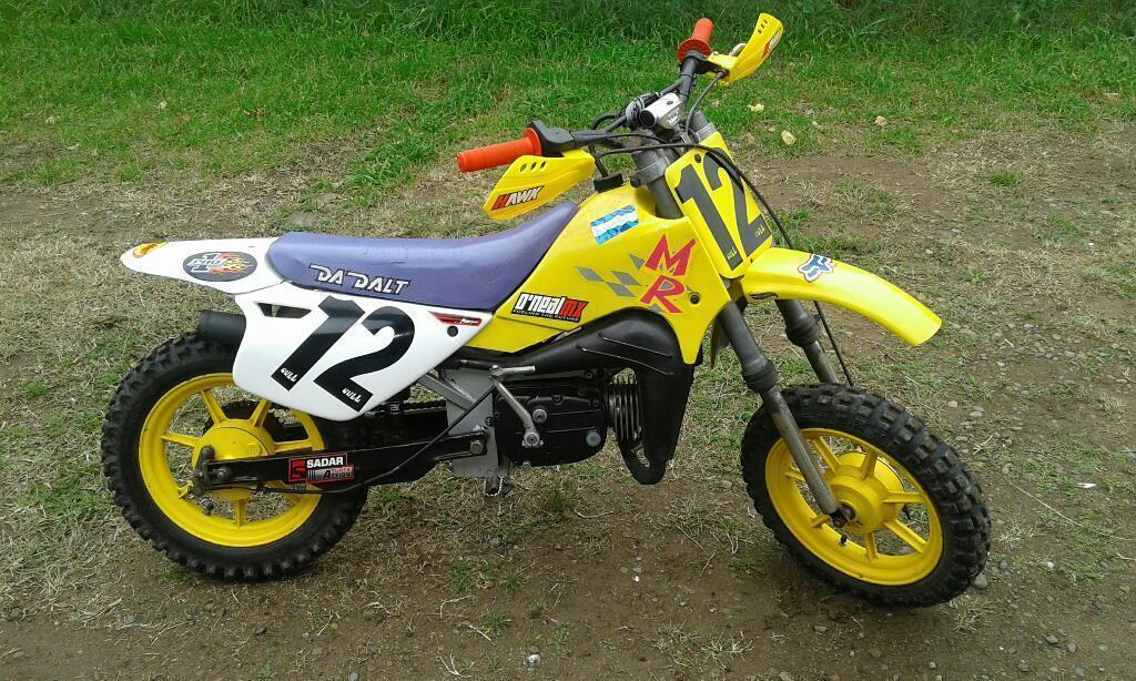 Mini Moto Da Dalt 60 Mr Cross Leer Bien
