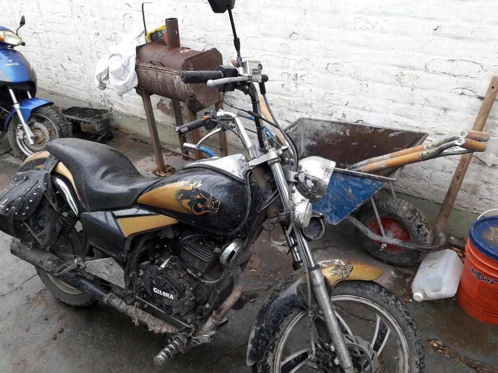 Moto Gilera Yl 200