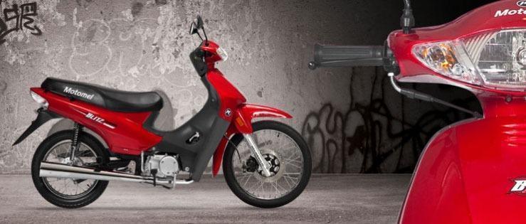 Motomel Blitz 110 Automatica Moto Delta 50 Años
